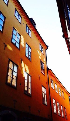 Building Exterior Window Low Angle View Architecture Built Structure Sky No People Outdoors Day