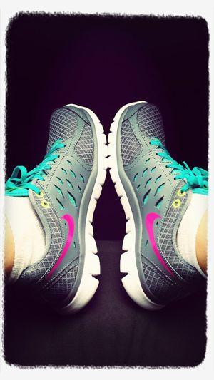 new nikes off to glendalough for a stroll Nike Summer Time :) Familydays First Eyeem Photo