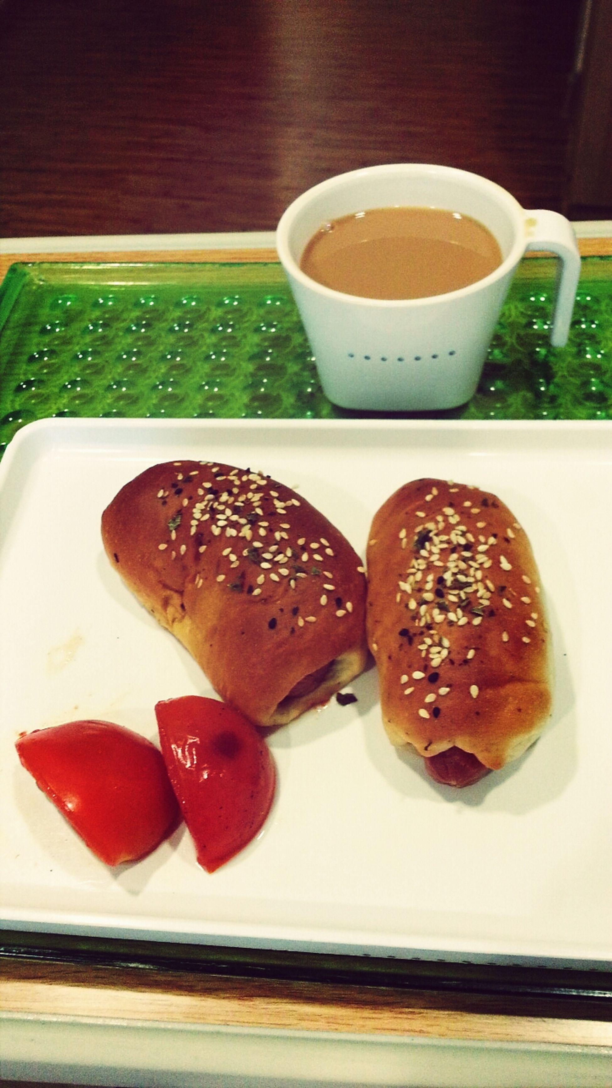 A Day In Hospital Breakfast Time HotDogBuns Yummy Yummy yummy