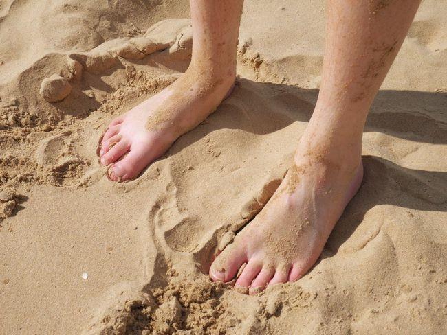 Sandy feet Beach Sand Sandy Sandy Feet Feet Toes