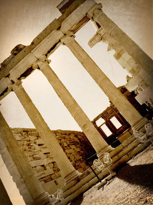 landscape at Παρθενώνας (Parthenon) by Reggie