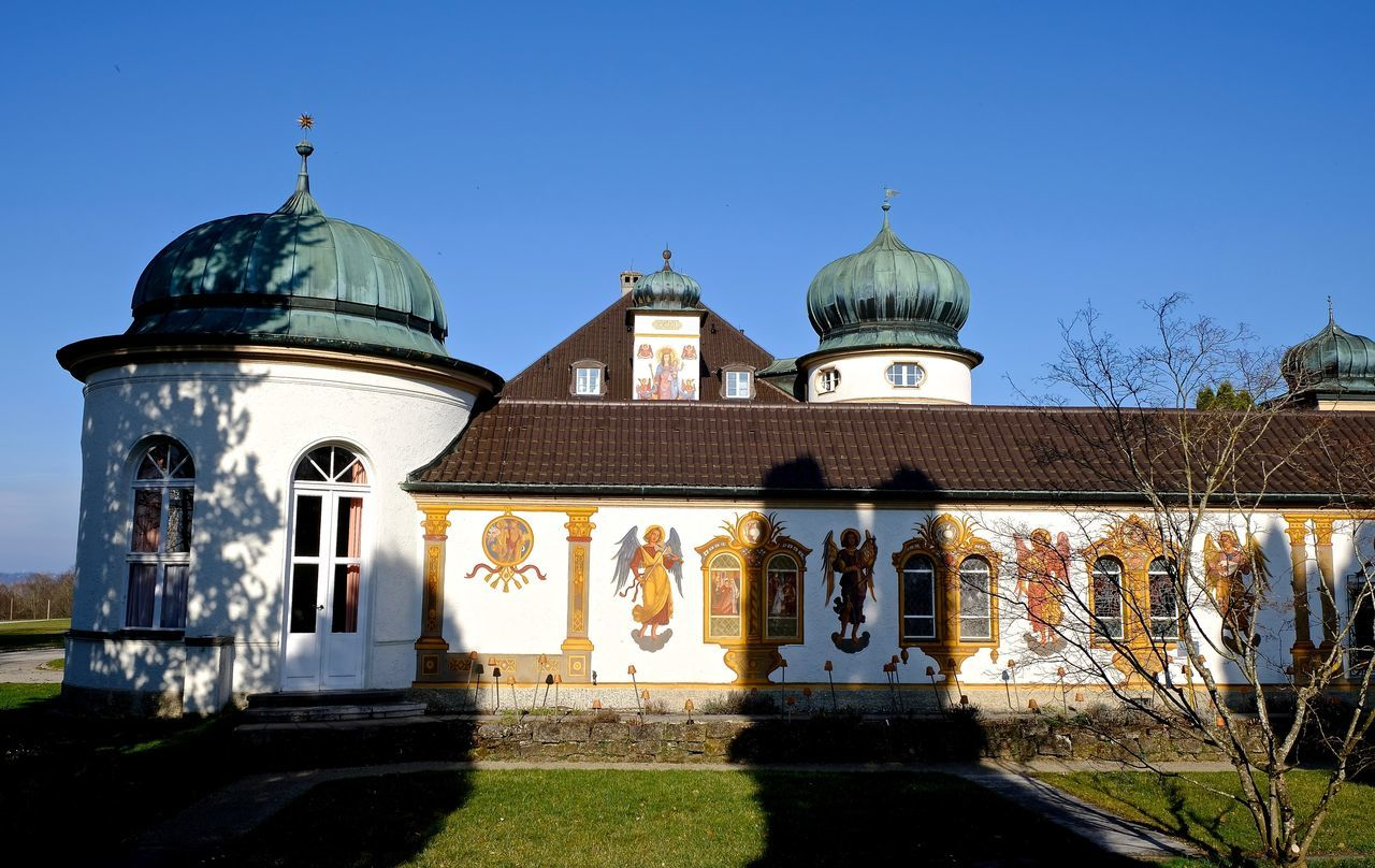 Architecture Bavaria Building Exterior Built Structure Cultures Façade History Light And Shadow No People Outdoors