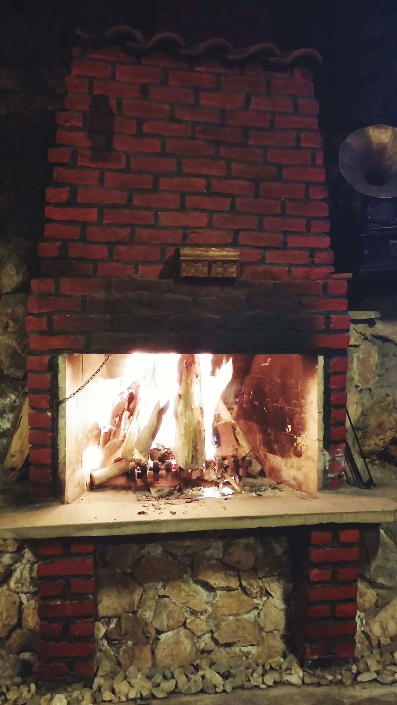 şömine Sıcak Ateş Yeni Raki Dogumgunu