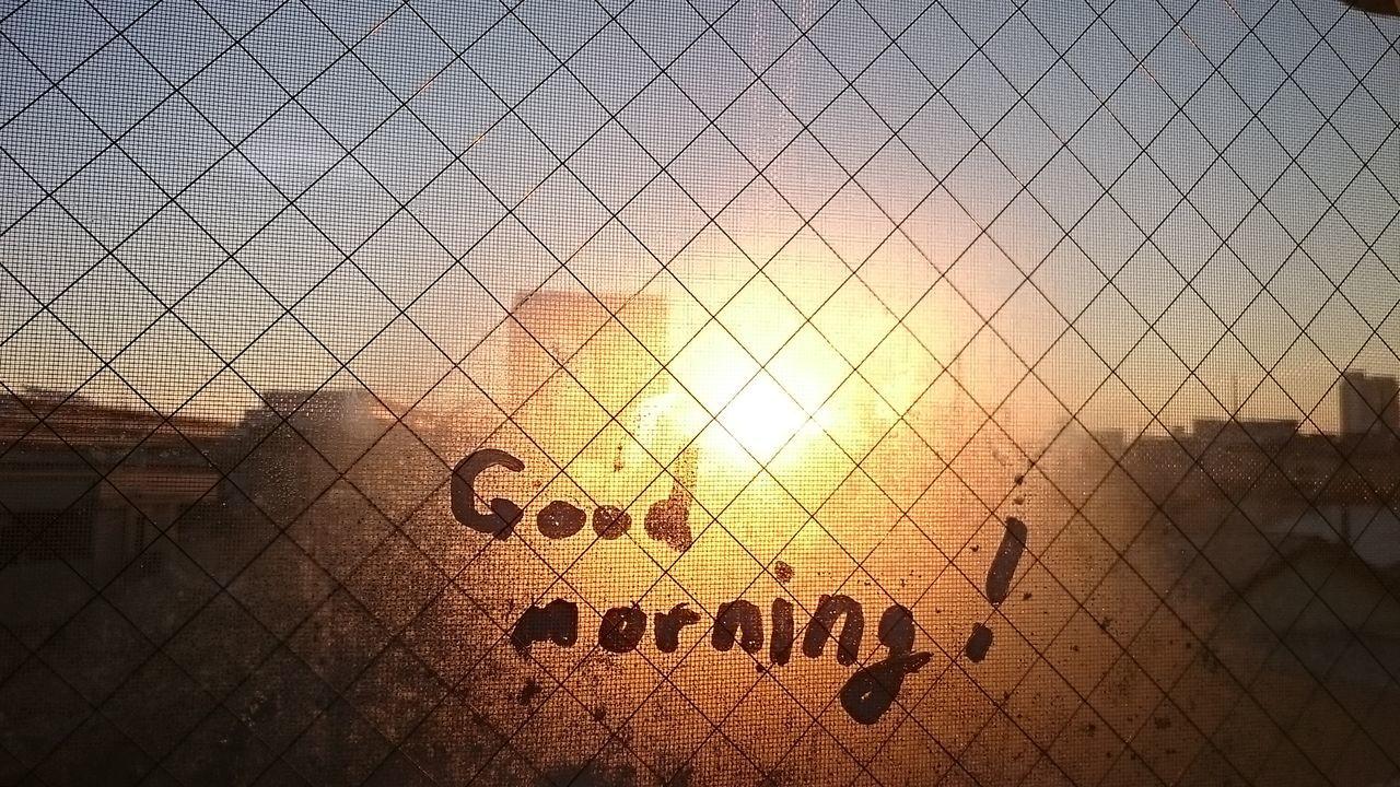 Good Morning Dew Condensation Sun Sunrises Goodmorning :)