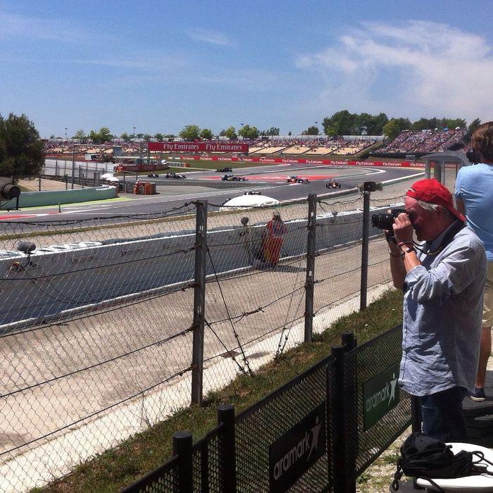 Donde estas Fernando Alonso? Enjoying Life Formula 1 Sport Circuit De Catalunya