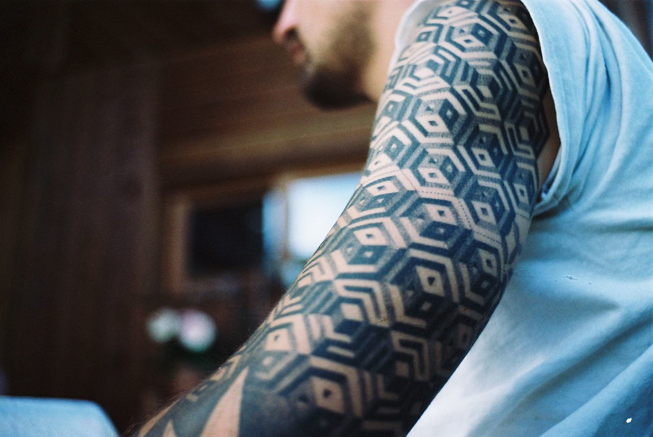35mm analog Analogue Photography EyeEm Best Shots Film film photography geometry ink inked Ishootfilm kodak portra selective focus tattoo
