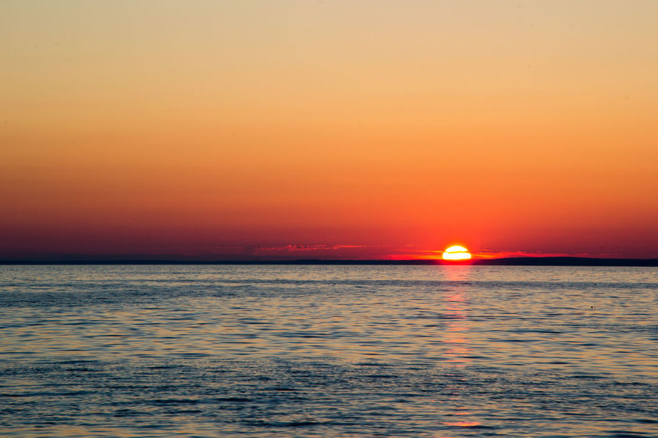 Gulf of Finland, Sestroretsk, near Saint Petersburg, Russia Beauty In Nature Clear Sky Gulf Of Finland Horizon Horizon Over Water Nature No People Outdoors Saint Petersburg, Russia Scenics Sea Sestroretsk Sky Sunset Tranquil Scene Tranquility Water