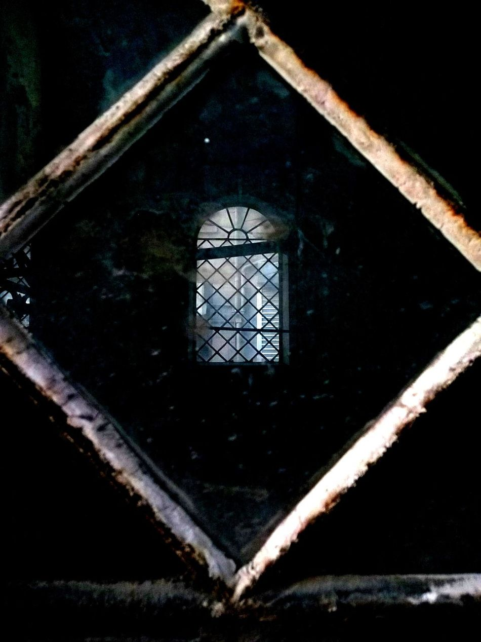 Window in the window Arch Architecture Damaged Deterioration Dirty In The Window No People Obsolete Outdoors Weathered Window