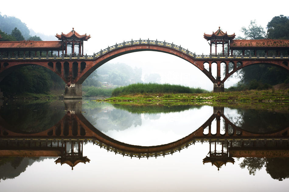 Ancient Haoshang bridge near the Giant Budda in Leshan. Ancient Ancient Architecture Architecture Bridge China Chinese Culture Chinese Style Chinese Style Building Giant Buddah Haoshang Bridge Lake Leshan Nature No People Outdoors Reflection Sichuan Symmetry Travel Tree Water