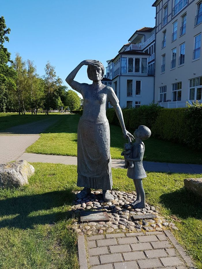 Animal Representation Statue Day Outdoors Spraying Sculpture Children Only Sky People One Person Comments On My Photos Welcome Kühlungsborn, Germany