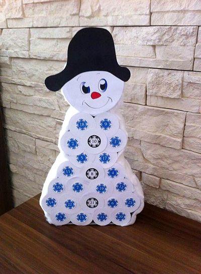 Bastelstunde Basteln Weihnachtskalender Weihnachten Überraschung Schneemann Bastelei Bastelspaß Für Jederman