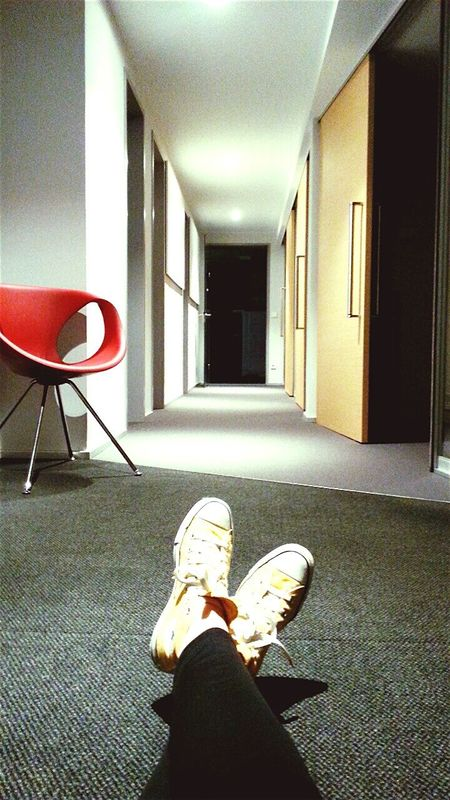 Borred Waiting Uncluttered Office
