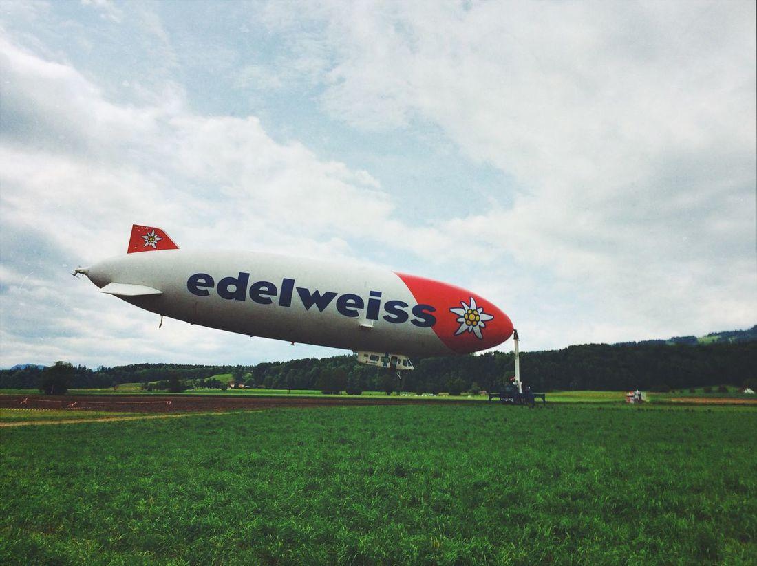 Just waiting Zeppelin Edelweiss Mexturesapp Urban Landscape Landscape_Collection EyeEmSwiss EyeEm Best Shots Public Transportation