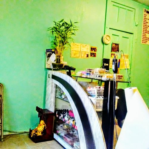 Nail Polish Here at nail salon. Indoors  Day No People Empty First One ! Interior Decor
