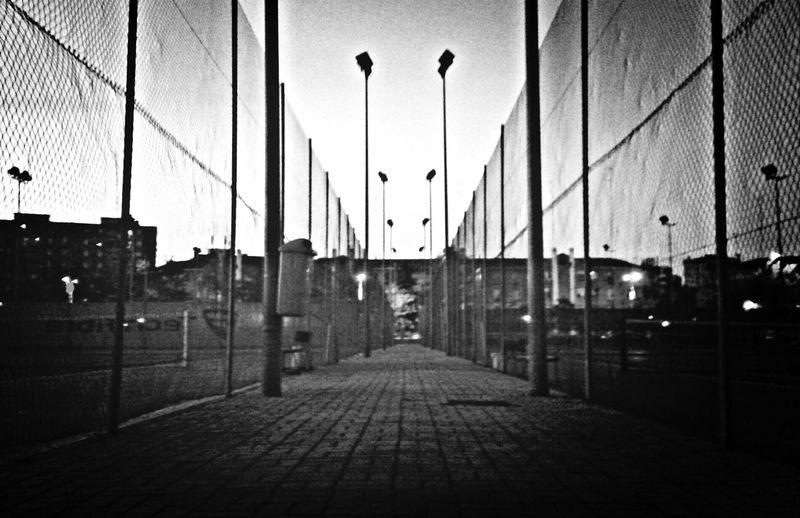 Road Black & White Way Sportcenter