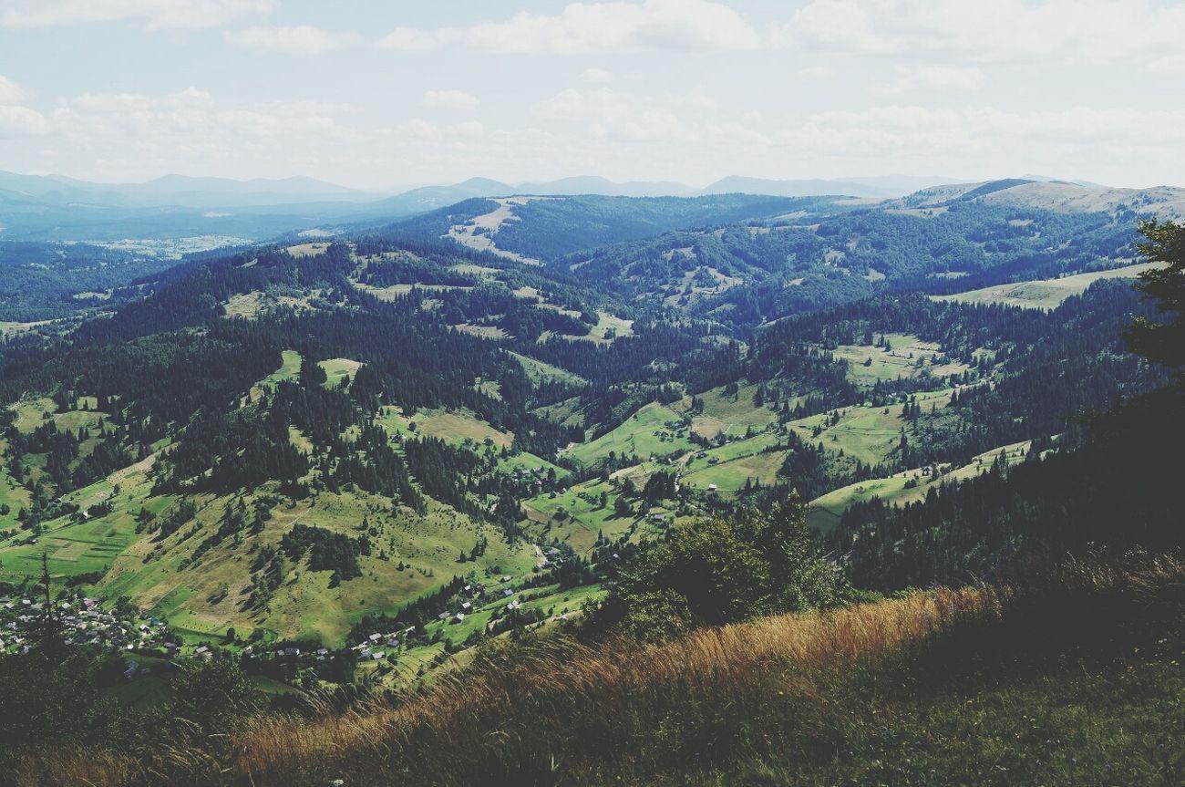 Karpathian Mountains Nature