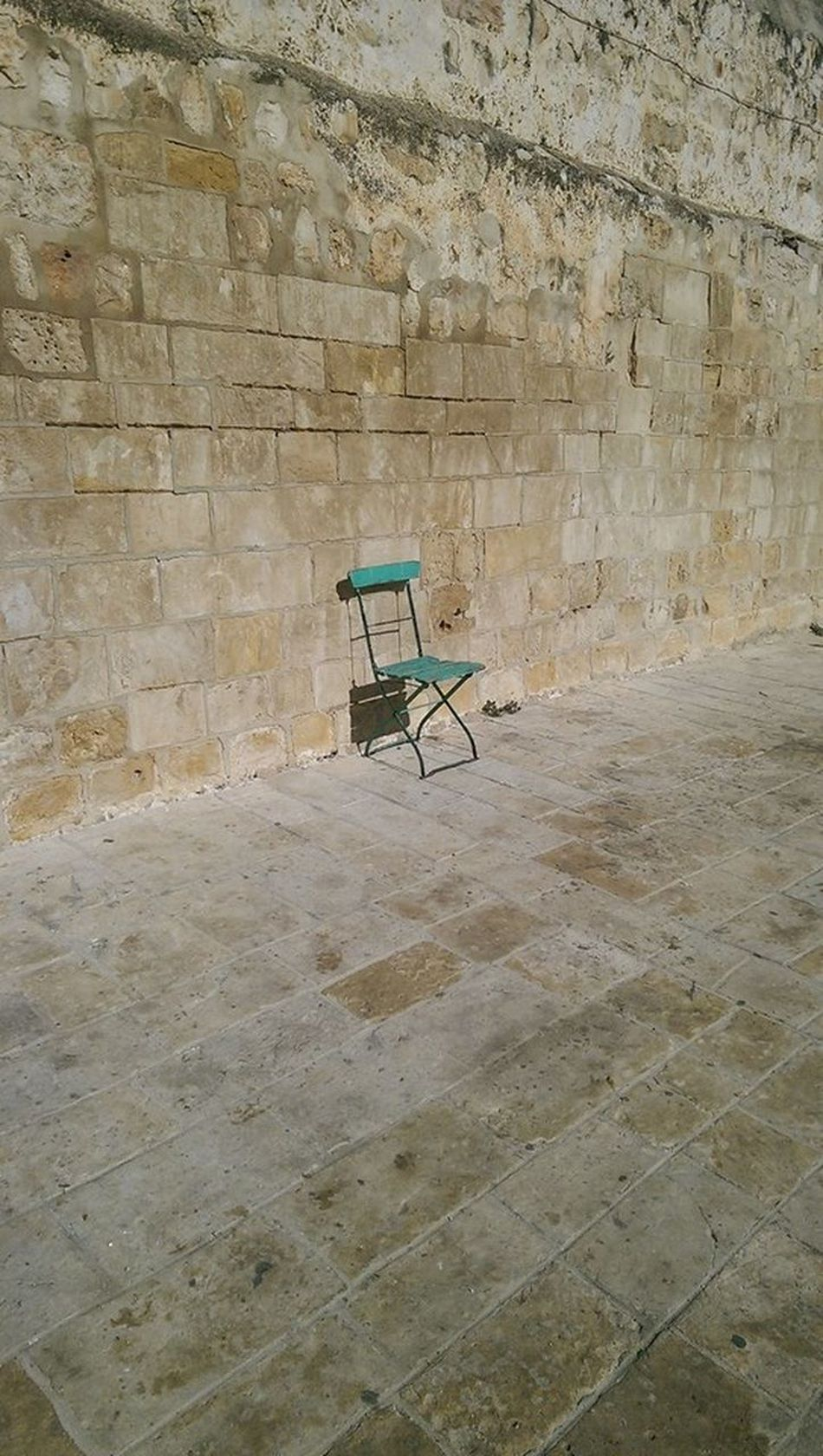 #Chair #israel #jerusalem #OldTown #Stone #streetphotography #turquoise #wall