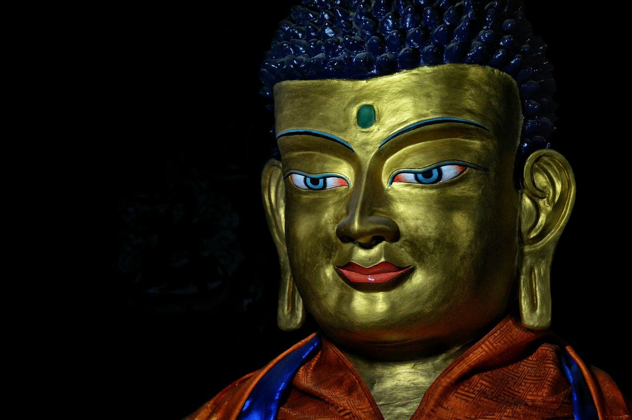 Budhism Budha Temple Budhist Budhastatue Travel Photography Traveldiaries LehLadakh Thikseymonastery Lehladakhtrip Indianstories Indian Culture  Indianphotography Incredible India Incredible Colors