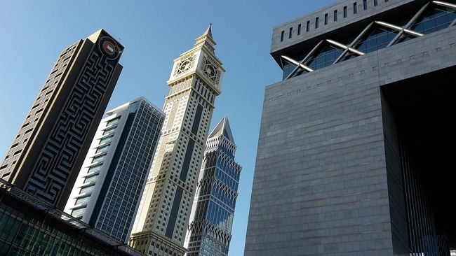 Dubai Cityscapes Buildings & Sky MazeRunner Order Lining Up United States Middle East Architecture