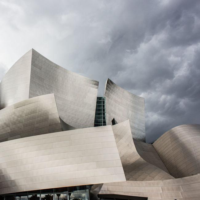 Disney Concert Hall Walt Architecture Architectural Detail Losangeles La Lalife DowntownLA Imthe1will Rain Storm