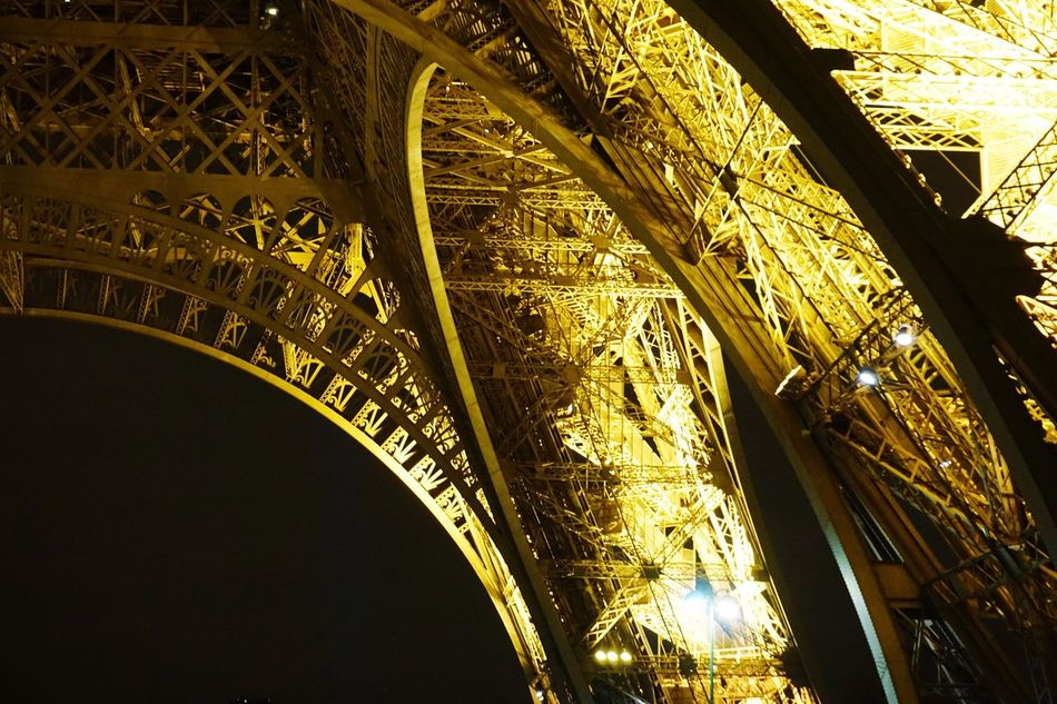 Low Angle View Architecture Cultures Built Structure Travel Travel Destinations Gold Colored No People City History Arch Outdoors Day Place Of Worship EyeEm Gallery Eye4photography  Eiffel Tower Photography Paris