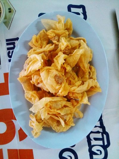 Yellow Fried Food Crispy เสาไห้ สระบุรี Disk On The Table Delicious Sony Xperia SP