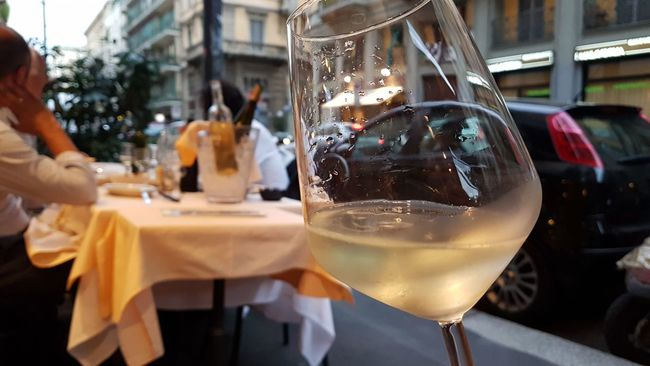 White wine on the streets of Milan White Wine <3 Milan