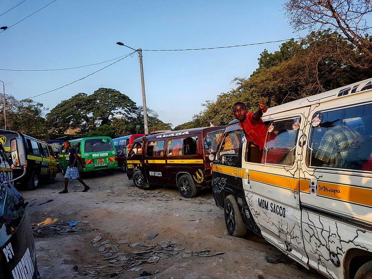 Kenya Matatu Mombasa Africa