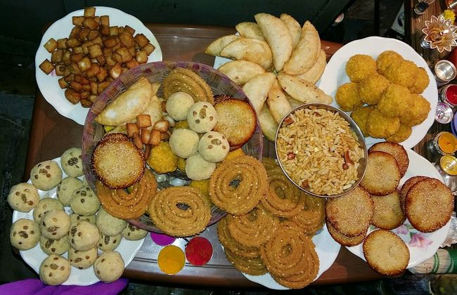 Indian diwali festival food Food And Drink Indoors  Collection Large Group Of Objects Abundance Food Retail  Freshness Baking Brown Variation Retail Display Group Of Objects Heap Wine Cork Choice Arrangement No People