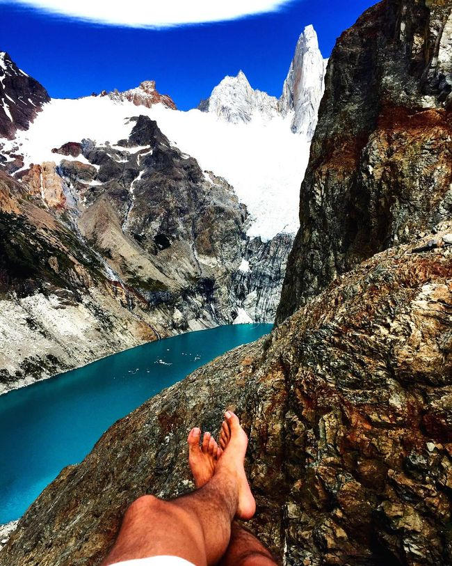 🗻🏔 Relax with a View. Walking Around Escaping Excercising Camping Relaxing Landscape Hiking Travel Explore Patagonia