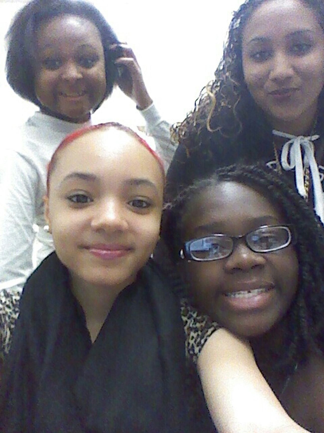 With aneesa, tanya & destiny :)