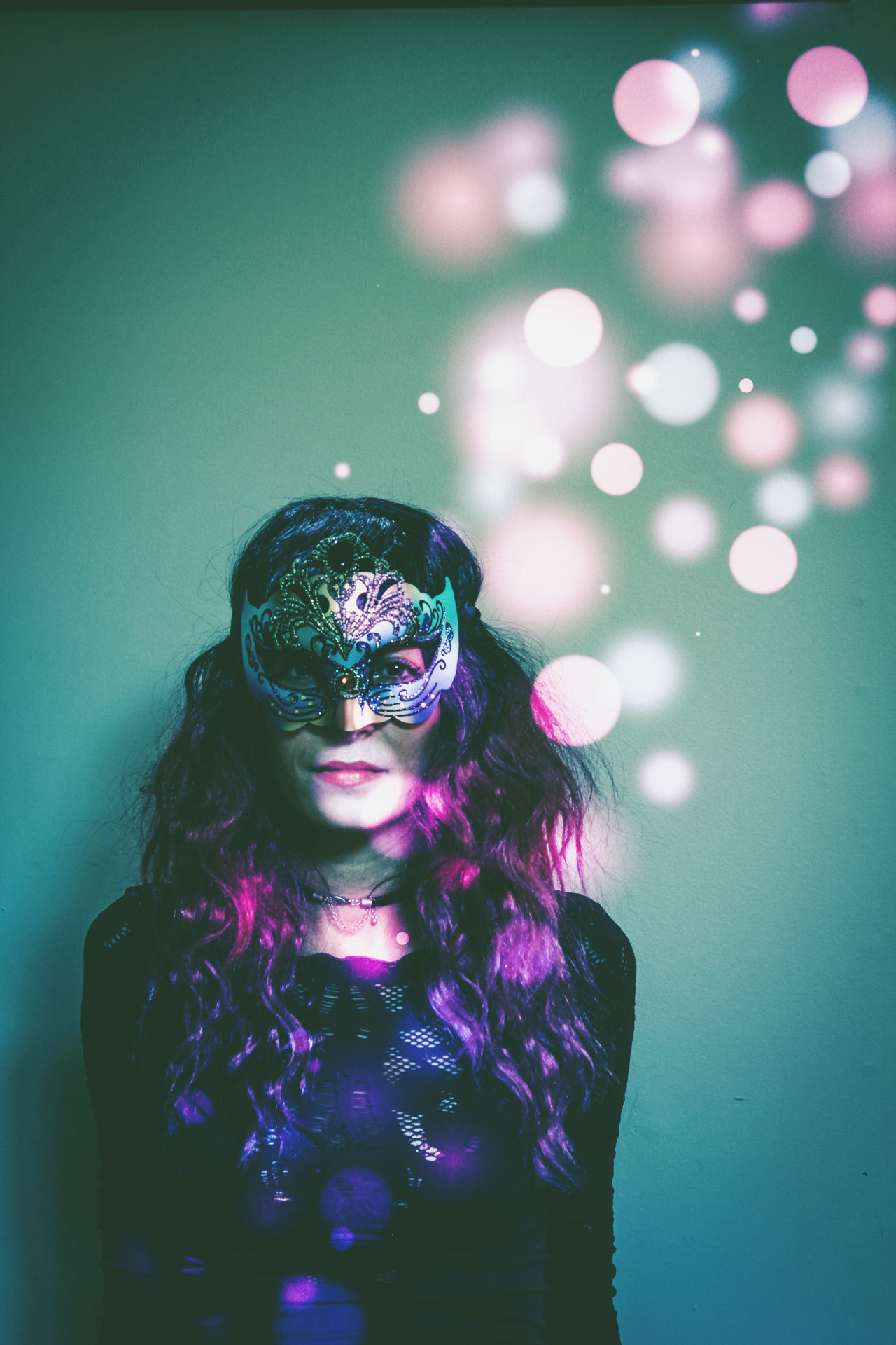 Adult Arts Culture And Entertainment Boheh Close-up Costume Indoors  Mask Mistery One Person Portrait Purple Real People Venetian Mask Woman Women Who Inspire You Uniqueness The Portraitist - 2017 EyeEm Awards