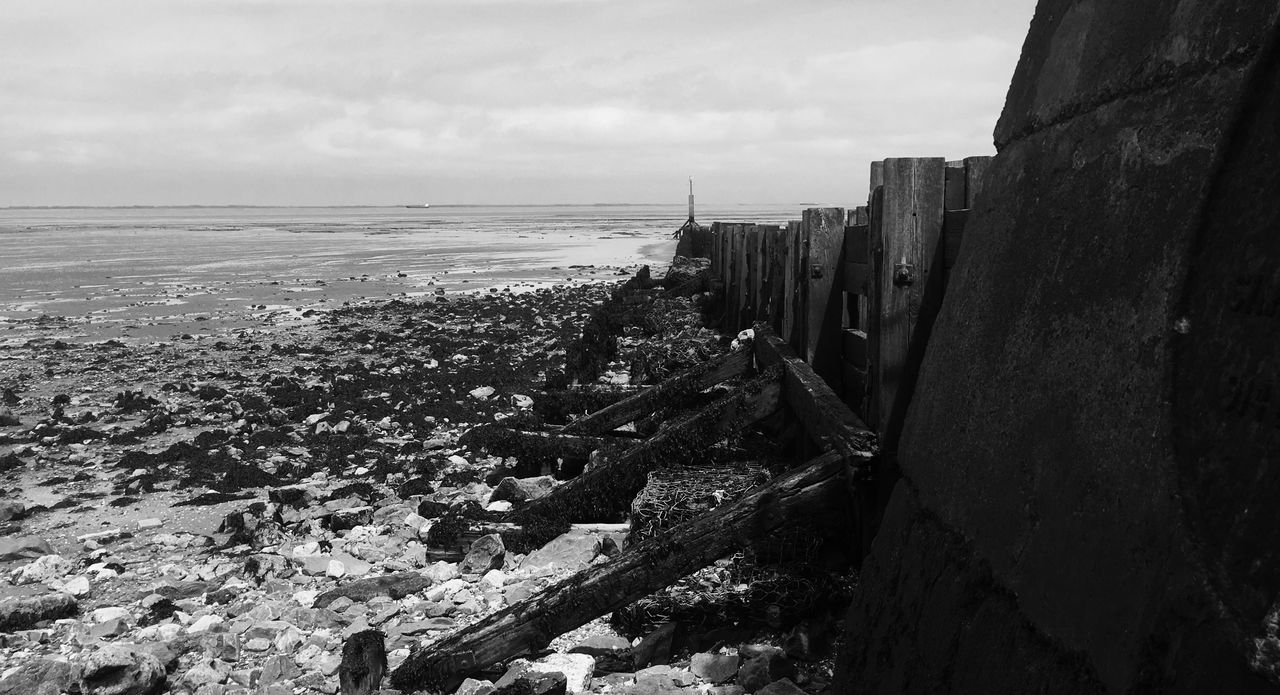 Groinson the East Coast Coastal Defences Cleethorpes East Coast