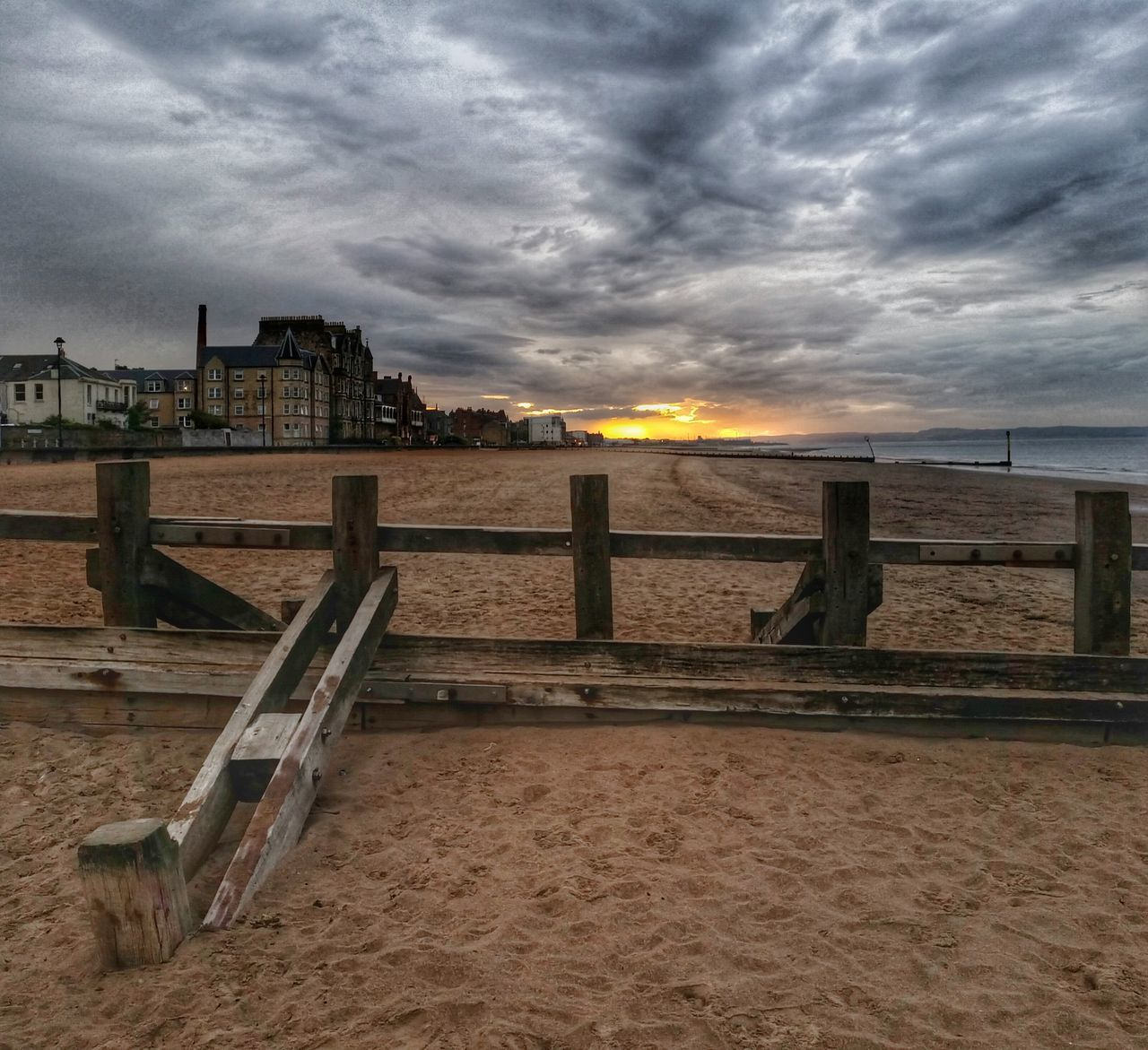 Portobello Beach, Edinburgh Portobello Scotland Sunset_collection Beachphotography Beauty In Nature Exceptional Photographs Striving For Excellence Enjoying Life Hdr_Collection Tadaa Community 43 Golden Moments My Cloud Obsession☁️ Eye Em Scotland Sundown Malephotographerofthemonth