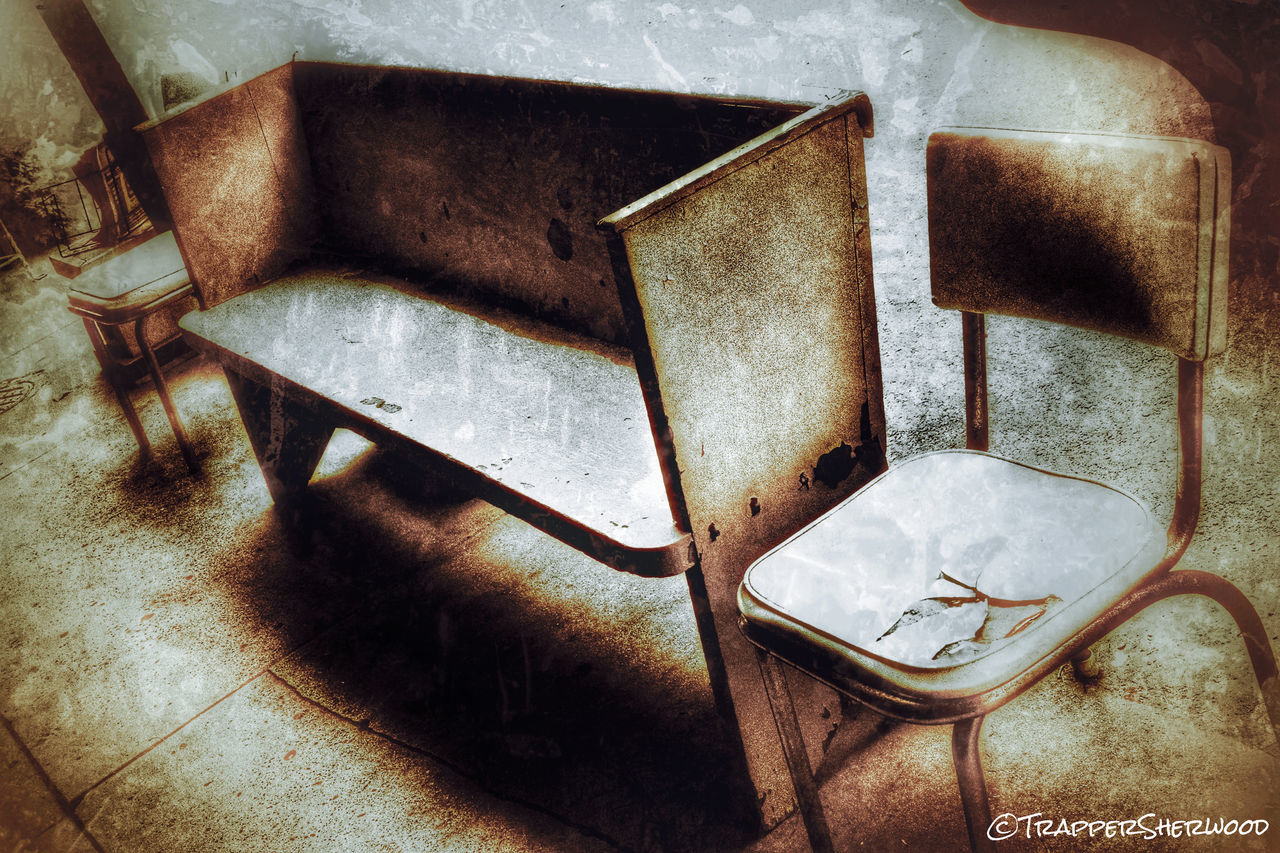 Not Park Bench Thursday Monochrome_Monday Über_edit_monthly Multiple Layers HDR Collection Waiting Light And Shadow My Best Photo 2015
