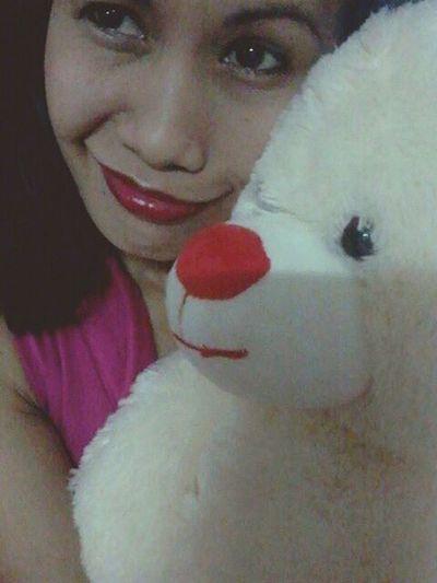 My teddy and i... Hello World