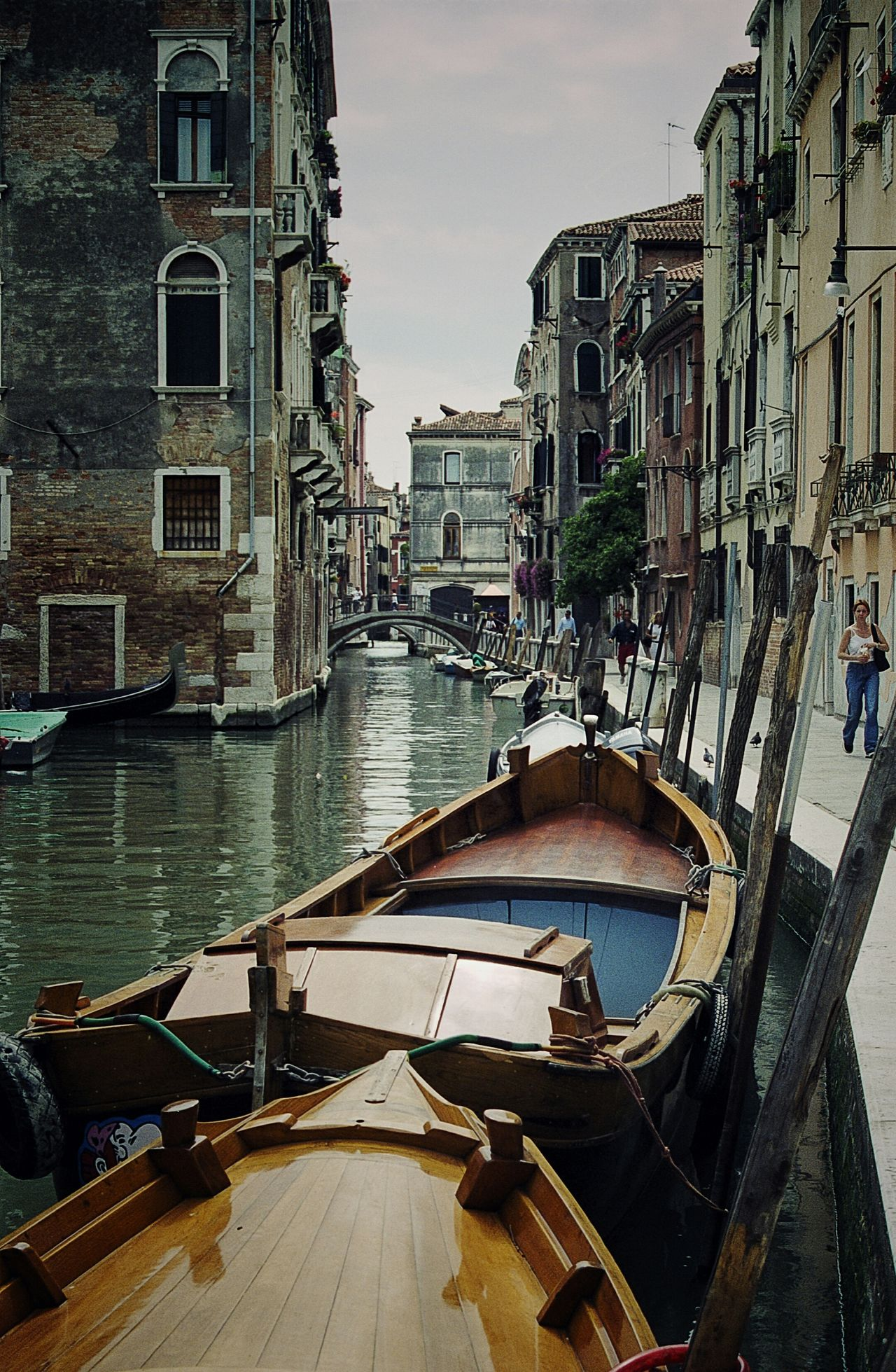 Back streets of Venice.Canal Reflection Gondola - Traditional Boat Nautical Vessel Travel Destinations Water Venice Venice Canals Italy Film 35mm Film Film Is Not Dead Film Photography Neighborhood Map