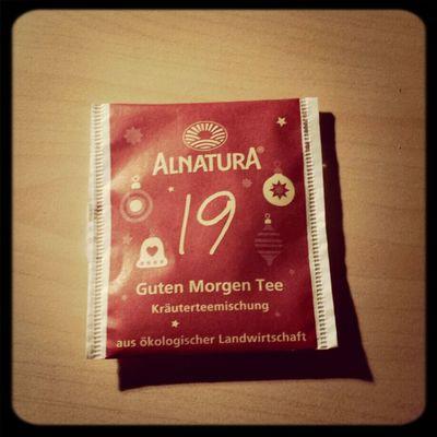 Zum Lernen dazu... Allerdings etwas zu blumig für einen Kräutertee! Tea ALNATURA