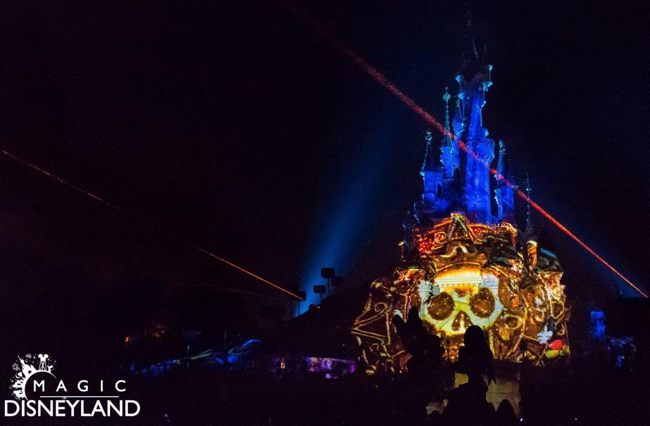 Illuminated Night Celebration Disney Disneyland Firework Display Disneyland Paris Disneyland Resort Paris Amusement Park