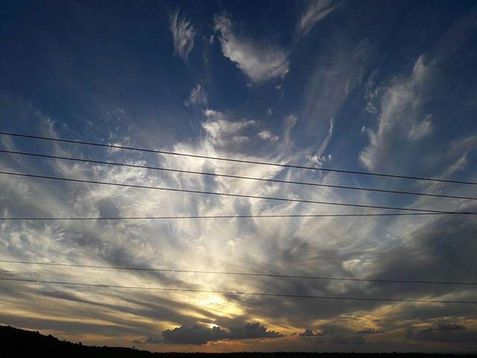 Always think that something wonderful will happen. Instapic Instamood Photography Landscape Sunset Igersmauritius
