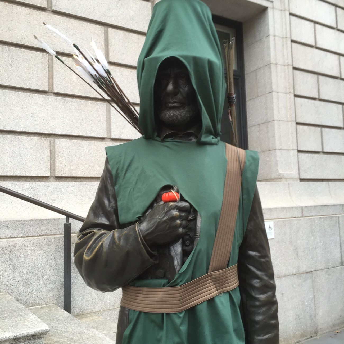Lincoln, Halloween, Robin Hood