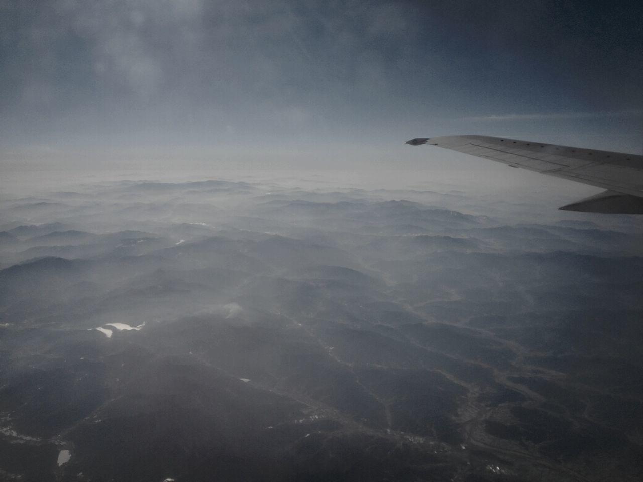 In Flight Smokey Mountains Smokey Sky Smokeyeye