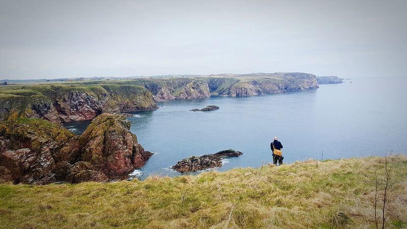 Bullers Of Buchan Cliffside Landscape_Collection Seaside