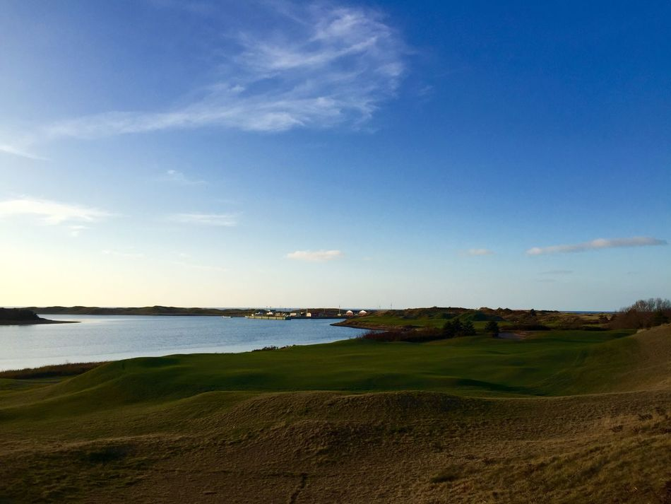 11.12.15 was two years since my father had passed away. I always find myself by the water when I think of him or when my anxiety gets high. This is where I landed. Fall2015 Golfcourse Cabot Links November Inverness Hometown Water Ocean View Grass Simple Photography Plain Beautiful