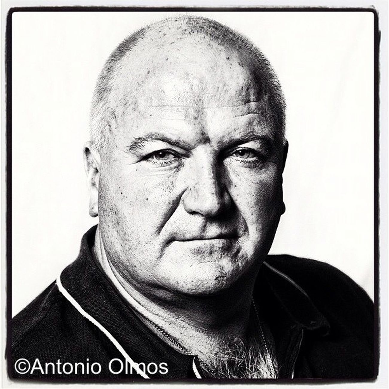 Bob Crow, Trade Union Leader, photographed by Antonio Olmos