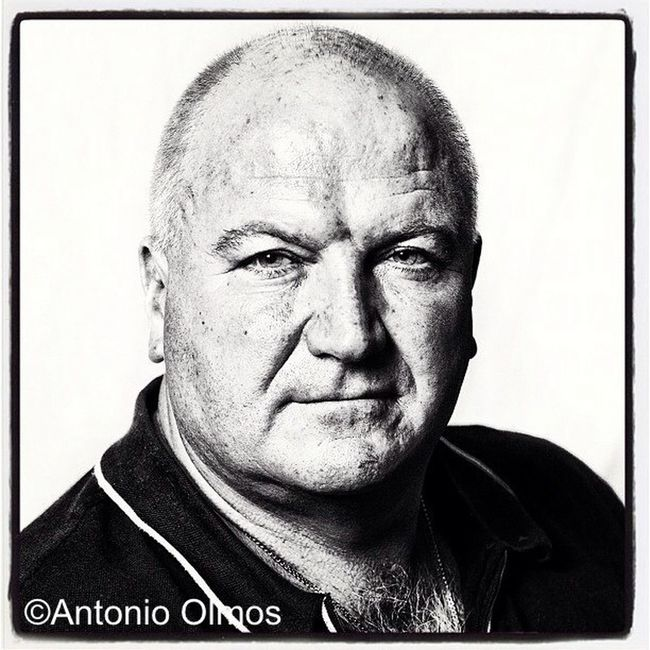 Bob Crow, Trade Union Leader, photographed by Antonio Olmos
