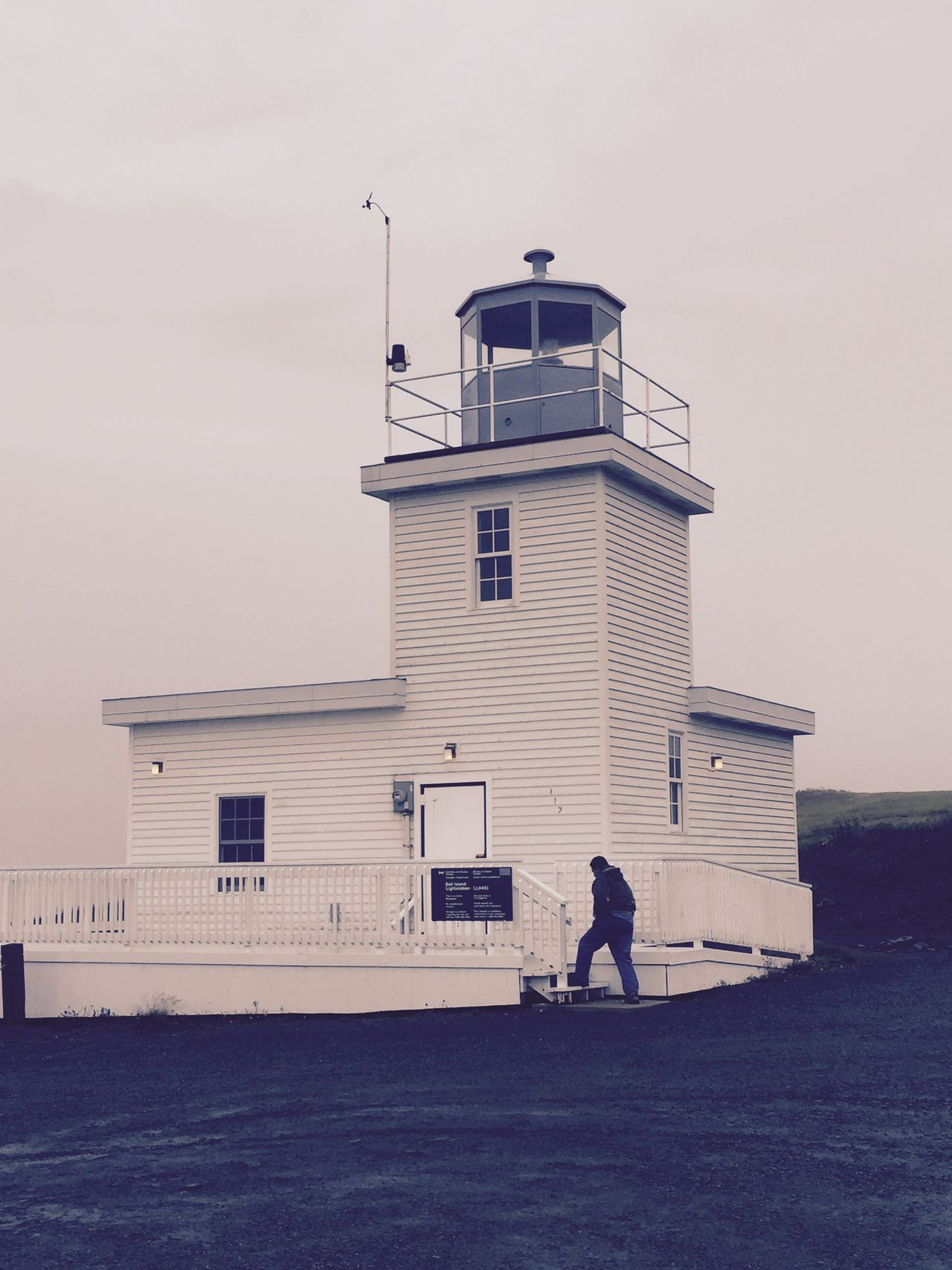 Lighthouse Bell Island Newfoundland