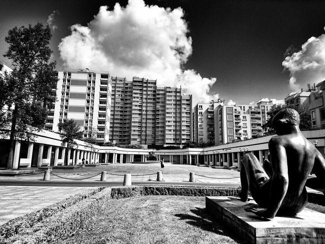 Centre ville. The Architect - 2016 EyeEm Awards EyeEm Best Shots - Black + White Streetphotography EyeEm Best Shots My Best Photo 2016 Eyeem France