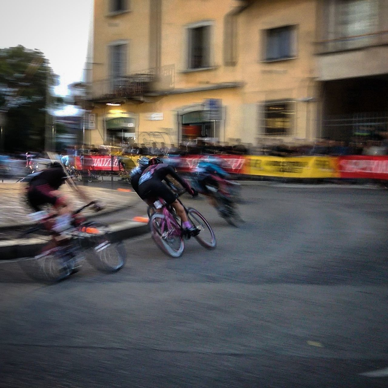 Bicycle Blurred Motion Cycling Fixed Fixed Bike Milan Milano Motion Race Real People Red Hook Criterium Riding Speed Street
