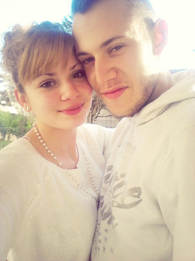 Couple AMOUR DE MA VIE Enjoying Life My Life